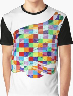 Swan Mural Graphic T-Shirt