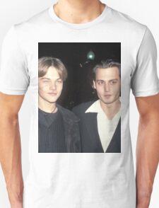 Leonardo DiCaprio and Johnny Depp Unisex T-Shirt