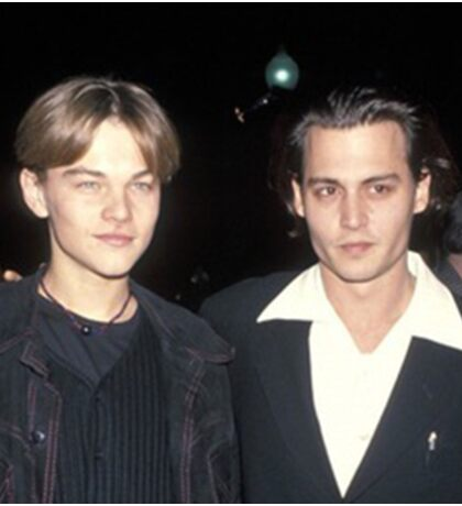 Leonardo DiCaprio and Johnny Depp Sticker