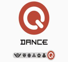 Q-Dance Festivals -Black Font- by Kontrabass32
