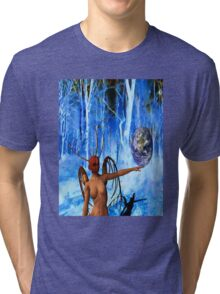 Surreal World Tri-blend T-Shirt