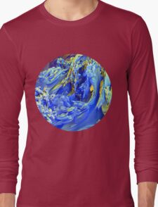 Landscape Abstract Long Sleeve T-Shirt