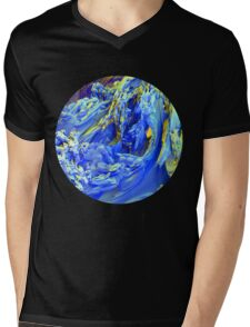 Landscape Abstract Mens V-Neck T-Shirt