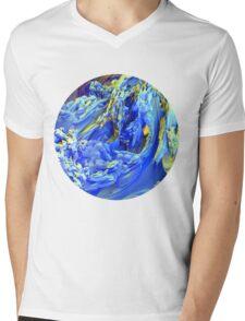 Landscape Abstract Mens V-Neck T-Shirt