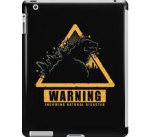 Incoming Natural Disaster! iPad Case/Skin