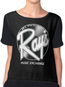 Ray's Music Exchange - Straight Exchange Logo Chiffon Top
