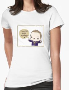 The Night Manager Womens Fitted T-Shirt