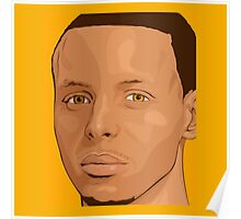stephen curry shirt Poster