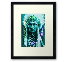 Magical Indian Chief Framed Print