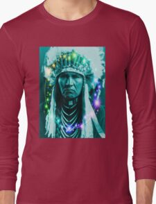 Magical Indian Chief Long Sleeve T-Shirt