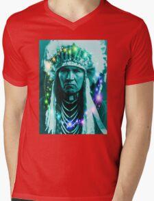 Magical Indian Chief Mens V-Neck T-Shirt