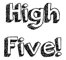 High Five! Photographic Print
