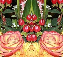 FLOWERY DISPLAY Sticker