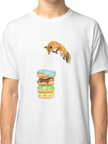 Donut Foxhole (Transparent Background) Classic T-Shirt