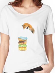 Donut Foxhole (Transparent Background) Women's Relaxed Fit T-Shirt