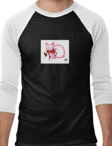 Cat -Not your China Doll - glyph Men's Baseball ¾ T-Shirt
