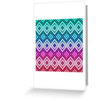 Woven Pastels Greeting Card
