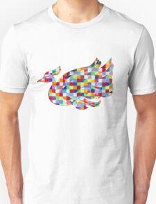 Swan Mural Unisex T-Shirt