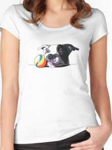It's a Dog's Life Women's Fitted Scoop T-Shirt