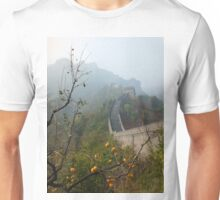 Harvest Time at The Great Wall of China Unisex T-Shirt