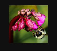 Bee on a Flower Bud Unisex T-Shirt
