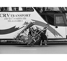 Thai Transport  Photographic Print