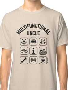 Multifunctional Uncle (9 Icons) Classic T-Shirt