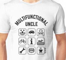 Multifunctional Uncle (9 Icons) Unisex T-Shirt