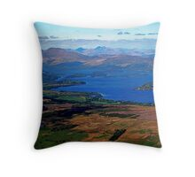 SCOTLAND LOCH LOMOND  Throw Pillow