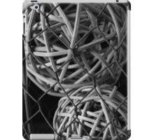 Abstract Wire And Spheres iPad Case/Skin
