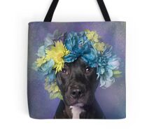 Flower Power, Midnight 2 Tote Bag