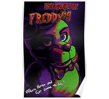 Five nights at freddy's - oldschool movie poster Poster
