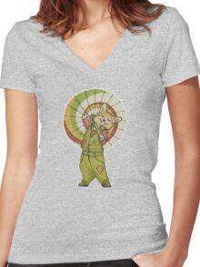 Corgi Kaylee!!! Women's Fitted V-Neck T-Shirt