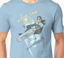 Jadzia Dax–What the Heck is a Gender? Unisex T-Shirt