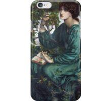Dante Gabriel Rossetti - The Day Dream , Portrait Of A Woman iPhone Case/Skin