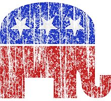 Republican Party Elephant Vintage Photographic Print