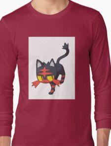 Litten - NEW Pokemon game Starter Long Sleeve T-Shirt