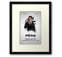 MORGUE Poster -- Donnie Framed Print