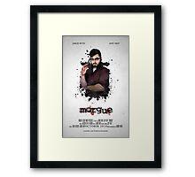 MORGUE Poster -- Liam  Framed Print