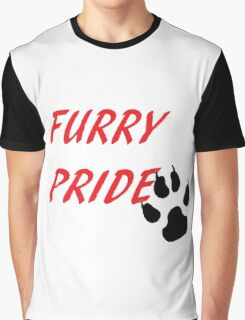 FURRY PRIDE Graphic T-Shirt