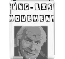 C. G. JUNG-LIST MOVEMENT iPad Case/Skin
