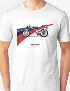 HONDA RC30 VFR750R TRIBUTE Unisex T-Shirt