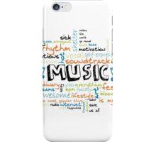 MUSIK IST ALLES - ALLES IST MUSIK! iPhone Case/Skin
