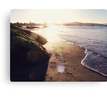 Beach and summer Canvas Print