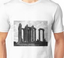 Temple of Olympia Zeus Unisex T-Shirt