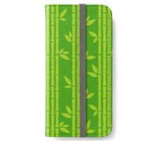 Evergreen Bamboos iPhone Wallet/Case/Skin