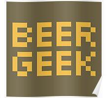 Beer Geek Poster