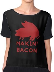 Bacon Lovers Chiffon Top