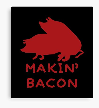 Bacon Lovers Canvas Print