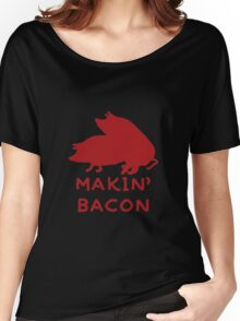 Bacon Lovers Women's Relaxed Fit T-Shirt